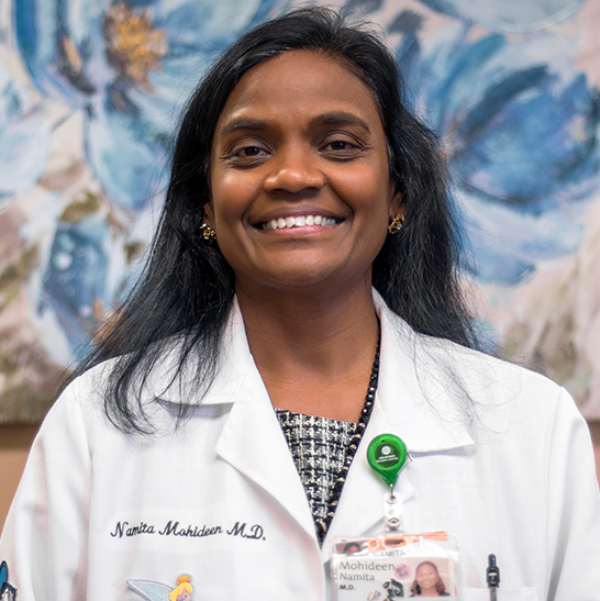 Dr Namita Mohideen - Victor Valley Pediatrics